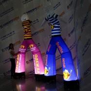 Танцующая рекламная конструкция Аэромен с подсветкой