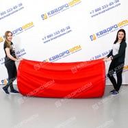 Тоннель тканевый красный