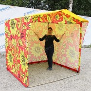 торговая палатка хохлома на ярмарку