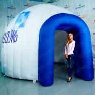 Надувная палатка с логотипом