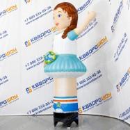 воздушная рекламная кукла девочка зазывала