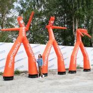 воздушные рекламные танцоры аэромены