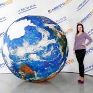 воздушный шар глобус