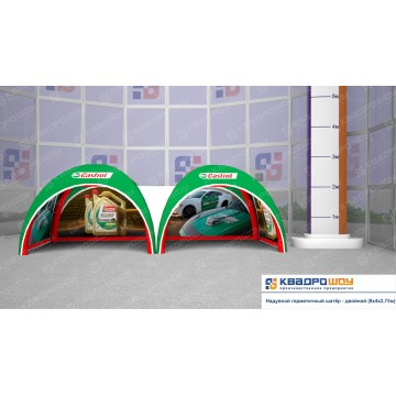 Пневмокаркасный шатер