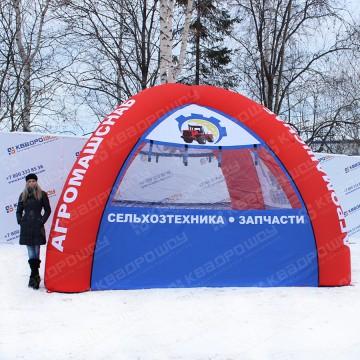 Пневмоконструкция надувная палатка для предприятия