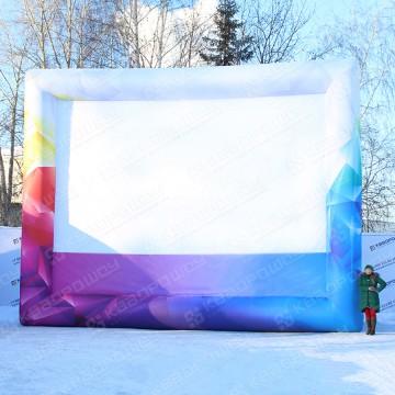 надувная конструкция экран на праздник
