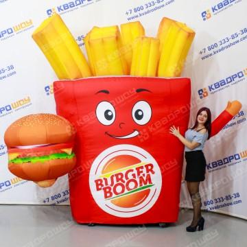 Рекламная конструкция бургер