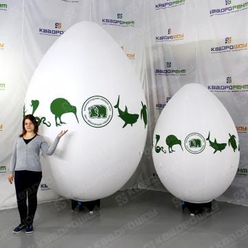 Пневмофигуры яйца на подставке 2м и 3м