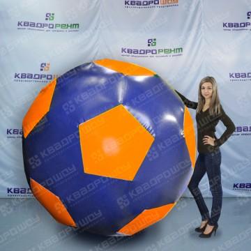 Гигантский аттракцион футбольный мяч