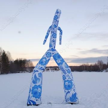 Надувная фигура на праздник аэромен