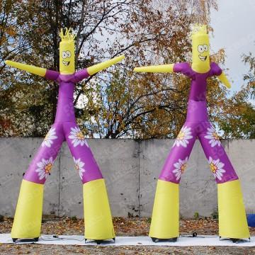 Надувные танцующие человечки