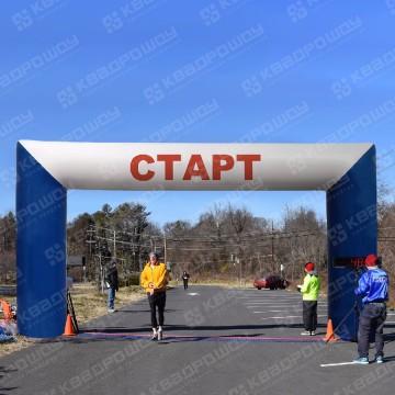 прямоугольная арка для спортивных мероприятий надувная