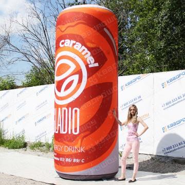 Рекламная фигура копия банки энергетика