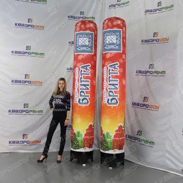 Объемные колонны для рекламы