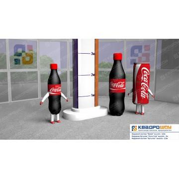 Пневмофигуры для наружной рекламы продукции