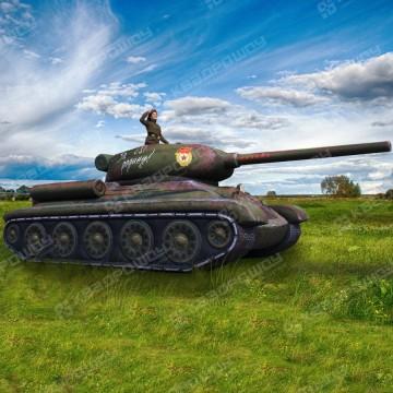 Надувной Танк Т-34