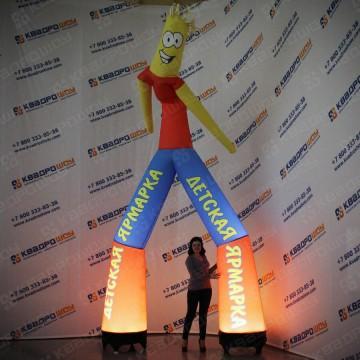 динамичная ростовая кукла с подсветкой