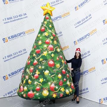 заказать новогоднюю елку надувную