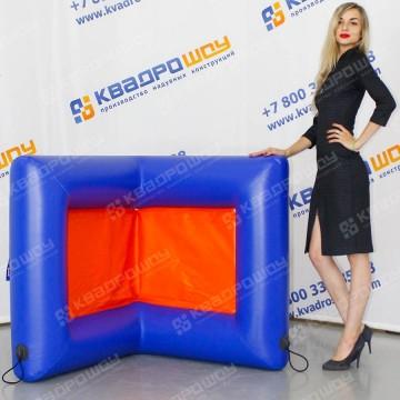 Фигура надувная для игры в пейнбол Поворот