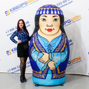 Надувная Фигура Матрешка таджикская