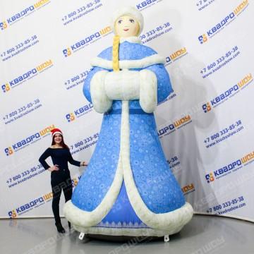Надувная фигура Снегурочка