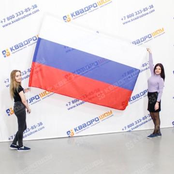 Флаг России прямоугольной формы