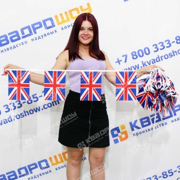 Флажная Лента английский флаг