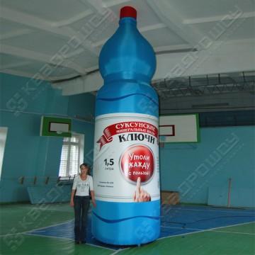 Надувное джумби бутылка