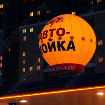 Надувная уличная реклама шар