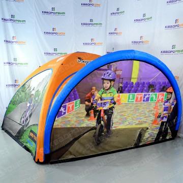 Брендированная палатка для рекламы