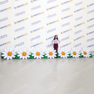 Надувные цветы Ромашки гирлянда