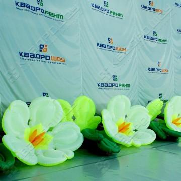 Надувная фигура гирлянда из цветов