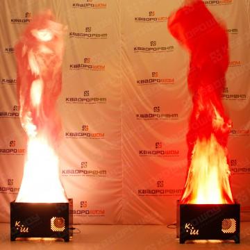 Имитация вечного пламени