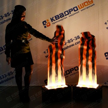 Воздушная имитация пламени
