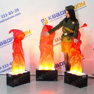 Исскуственный огонь для оформления
