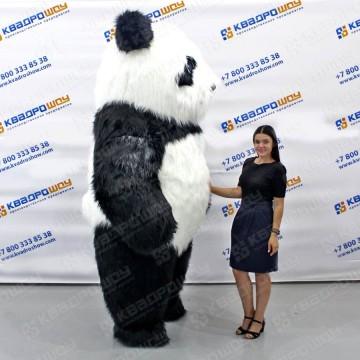 Фигура надувная большой белый медведь