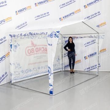 Каркасная палатка Гжель с подъёмными стенками