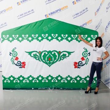 Каркасная палатка на праздник Сабантуй