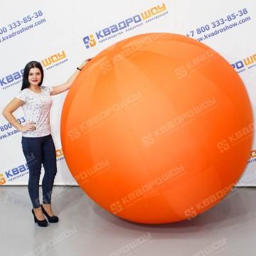Надувной огромный мяч