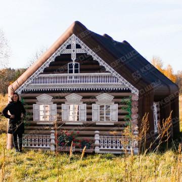 Надувной декорационный домик