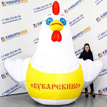 Рекламная фигура Курица