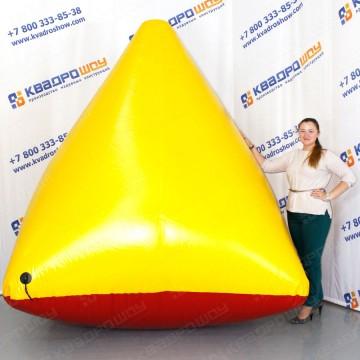 Укрытие игровое пейнтбольное пирамида
