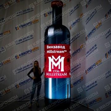 Фигура надувная бутылка вина