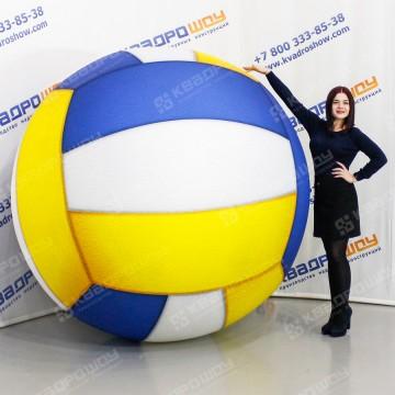 Фигура надувная волейбольный мяч