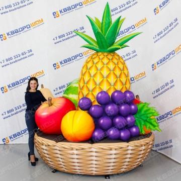 Надувная фруктовая корзина