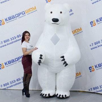 белый медведь для праздника костюма