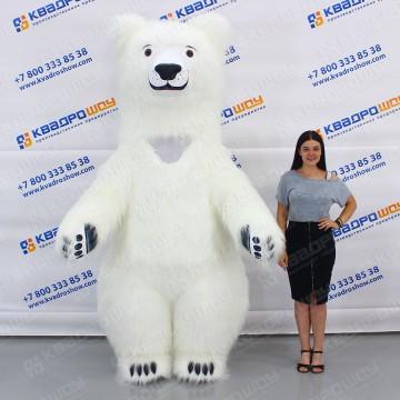 ростовые куклы белые медведи