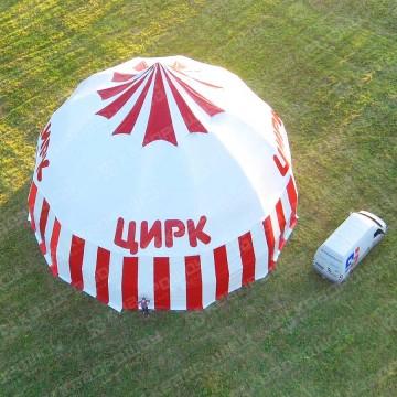Огромный шатер для цирка Шапито