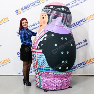 Надувная Фигура Матрешка киргизская