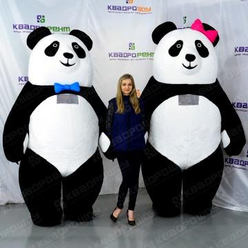 Надувные костюмы панды